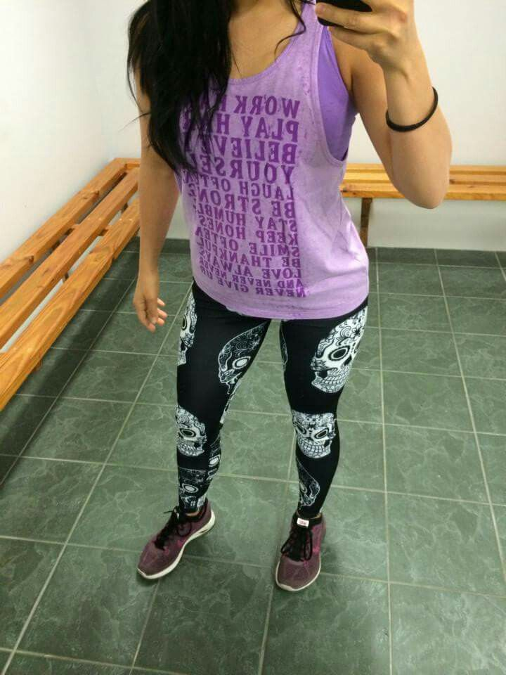 SKULLS SKULLS SKULLS!  Energo Apparel has some awesome and bright #fitness #leggings. Check them out at www.energoapparel.com.au   #energoapparel #fitnessapparel #fitness #health #clothes #fashion