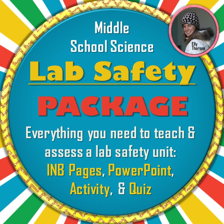 Everything you need to teach and assess lab safety in your middle school science classroom