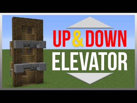 Minecraft 1.10: Redstone Tutorial - BEST Elevator! - YouTube