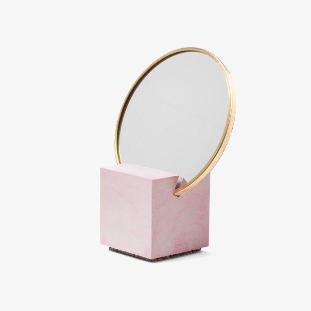 Slash Vanity Mirror by Slash Objects