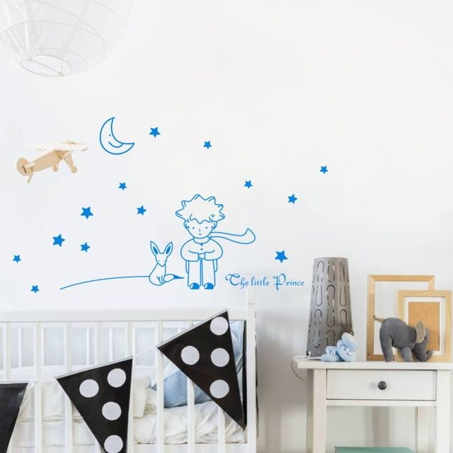 The Little Prince Wall Sticker Diy Stars Vinyl Mural Decal For