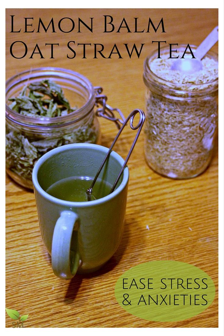 Lemon Balm Oat Straw Tea (ease stress and anxieties naturally with these beautiful, healing herbs) - Scratch Mommy