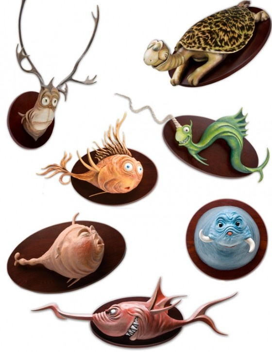 Super Punch: Dr. Seuss's Unorthodox Taxidermy: Clay, Seuss Taxidermy, Faux Taxidermy, Paper Mache Dr. Seuss, Unorthodox Taxidermy, Funny, Collection, Baby Rooms, Art Sculpture Character