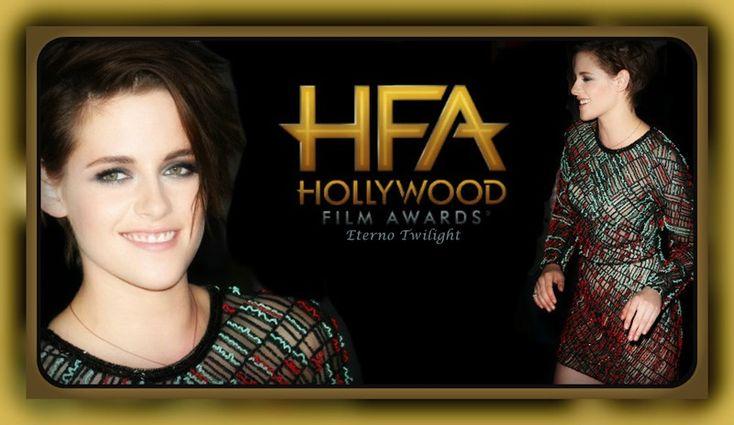 Kristen Stewart Estará No Hollywood Film Awards Em 14 De Novembro 2014 O ET divulgou com exclusividade que a atriz norte-americana, Kristen Stewart, foi confirmada no Hollywood Film Awards que acontece na noite de sexta-feira, 14 de novembro de 2014, no Hollywood Palladium, na cidade de Los Angeles. A cerimônia deste ano será transmitido ao vivo pelo canal CBS. O evento repleto de estrelas é considerado o lançamento oficial da temporada de premiações de Hollywood.