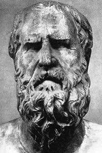 Heráclito de Éfeso, conocido también como «El Oscuro de Éfeso», fue un filósofo griego. Nació hacia el año 535 a. C. y falleció hacia el 484 a. C..  Era natural de Éfeso, ciudad de la Jonia, en la costa occidental del Asia Menor (actual Turquía). Como los demás filósofos anteriores a Platón, no quedan más que fragmentos de sus obras, y en gran parte se conocen sus aportes gracias a testimonios posteriores.