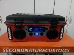 DIY Battery Reconditioning - Battery Reconditioning - Battery Reconditioning - DIY jobsite radio with car stereo, speakers, inverter and led lights with 18ah 12v battery - Save Money And NEVER Buy A New Battery Again Save Money And NEVER Buy A New Battery Again Save Money And NEVER Buy A New Battery Again