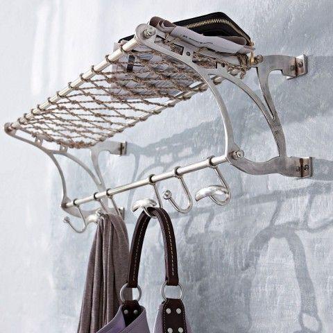 wandgarderobe edelstahl, garderobe metall, garderobenhaken edelstahl, garderobe edelstahl