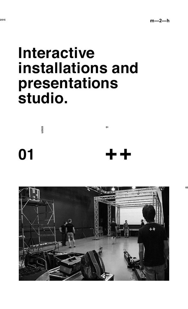 Inty++ is an interactive installations and presentations studio.Our team has created a full set of tools, guidlines, branding elements and animation.
