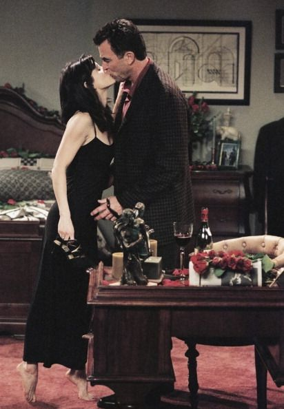 Friends ~ Episode Photos ~ Season 3, Episode 13: The One Where Monica and Richard Are Just Friends #amusementphile