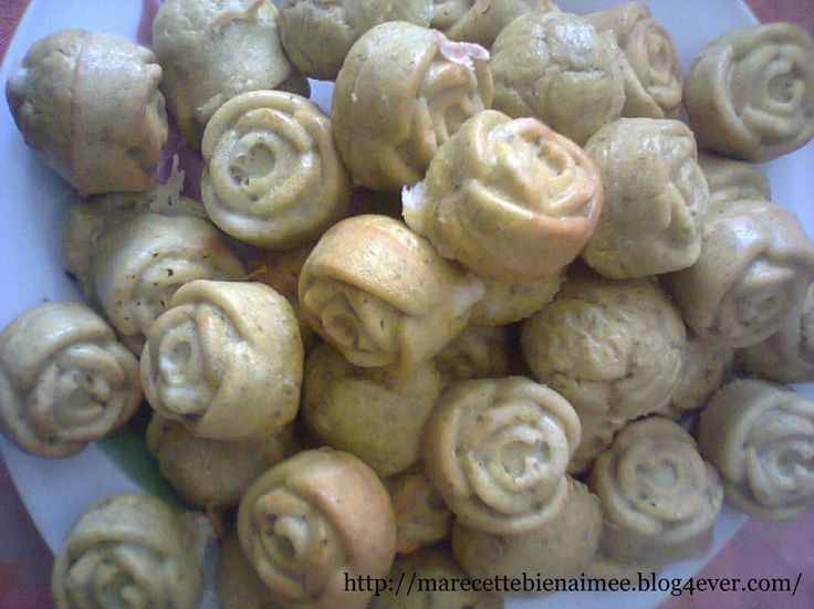 Petites fleurs pesto-chèvre