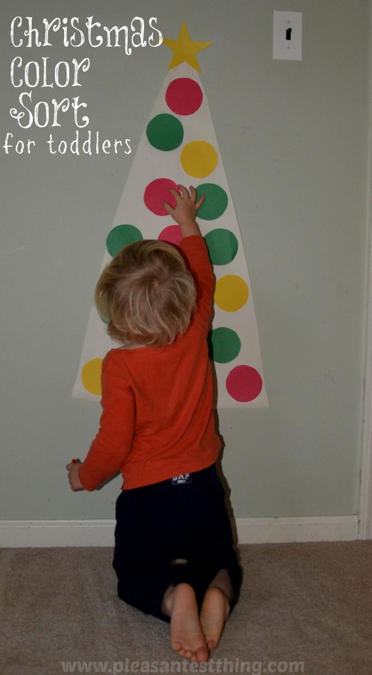Color games for toddlers - Christmas Colors Toddler Game