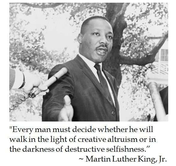 Martin Luther King on Character