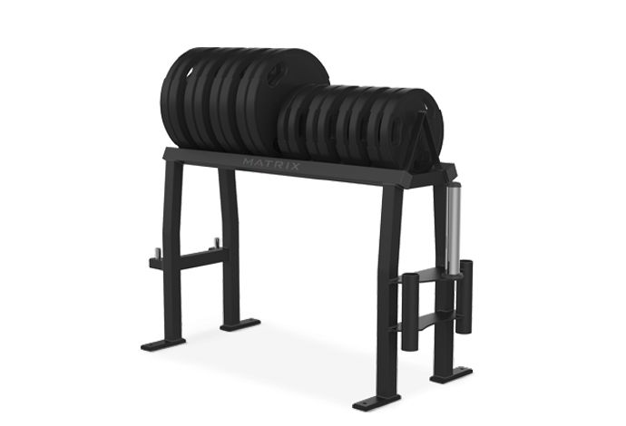 Hi Boy Bumper Plate Rack MG-A305