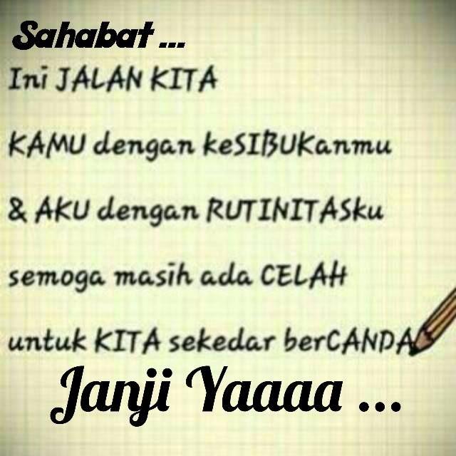 janji yaaa