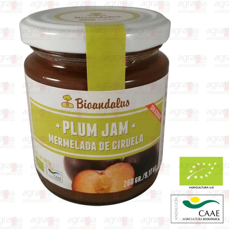 #Mermelada Ecológica de #Ciruela endulzada con ágave, excluyendo el azúcar. #Plum #Jam - See more at: http://agradia.com/gourmet/mermelada/mermelada-ecologica-de-ciruela-260-gr-detail#sthash.5e7WIrX9.dpuf