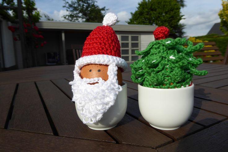 Eiermutjes. Patroon: Funny eggs / Eveline Hetty-Burkart. December 2014.