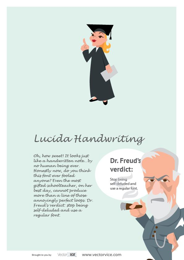 Lucida Handwriting Font Infographic Dr. Freud #LucidaHandwriting #Font #Infographic #inspiration #designer #design