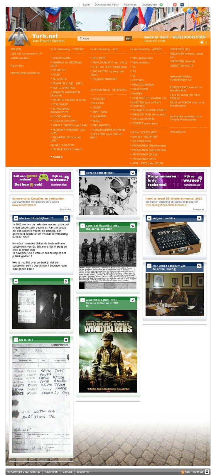 The website 'http://wereldoorlogen.yurls.net/nl/page/792245#topboxes'  -> codes     courtesy of @Pinstamatic