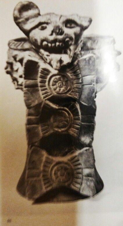 Urne funeraire  Figurengefässe aus Oaxaca/ Mexico Schuler-Schömig Immina von  Editorial: Museum für Völkerkunde, Berlin (1970) plate 86