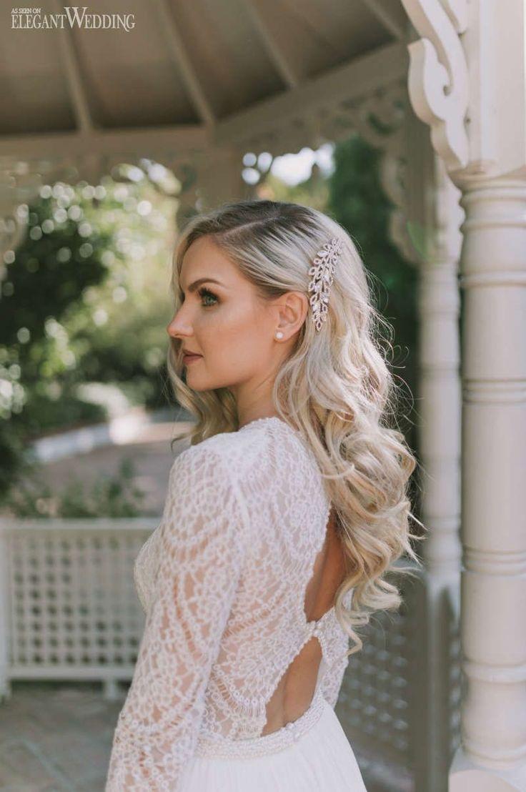 Vintage Winter Wedding Ideas – Wedding hairstyles
