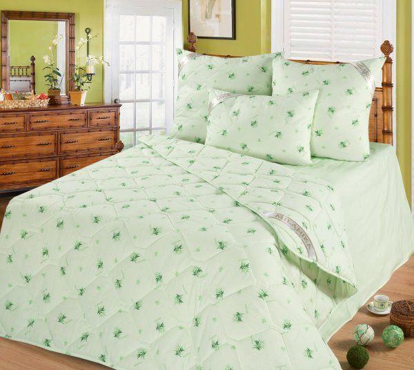 Одеяло из бамбука (поплин) 1,5 спальное 140×205