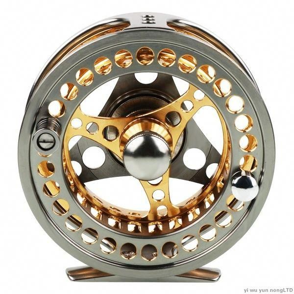 Sougayilang 7 8 Aluminum Fly Fishing Reel Die Full Metal Casting Cnc Fly Fishing Wheel Fishing Reels Fly Fishing Fly Fishing Reels
