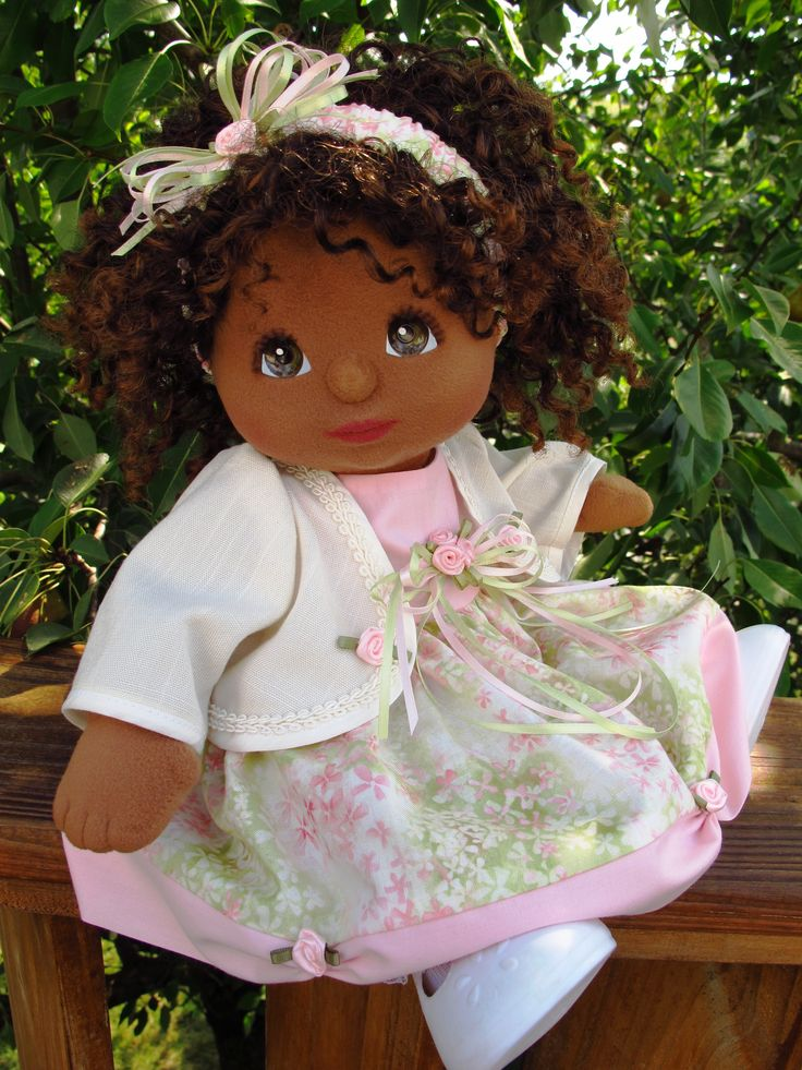 OOAK AA My Child Doll in OOAK outfit