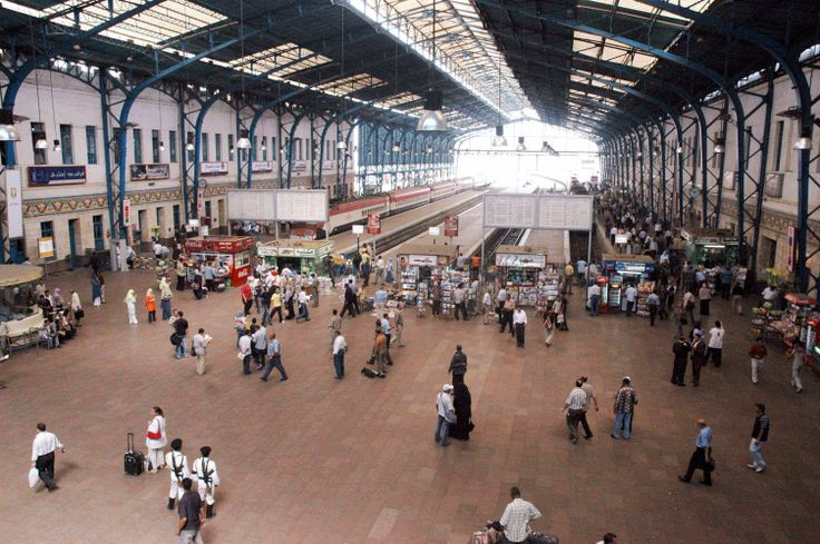 Egypt's railway station from inside, Ramsis, Cairo
