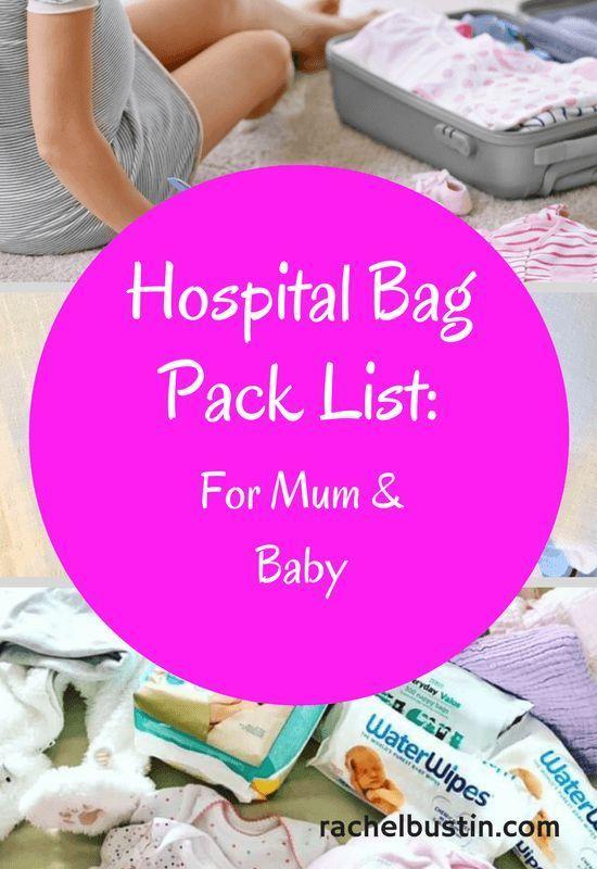 Geniale Checkliste für werdende Mumien! #hospitalbag #checklist #mummy #mom H …   – Baby hospital bag