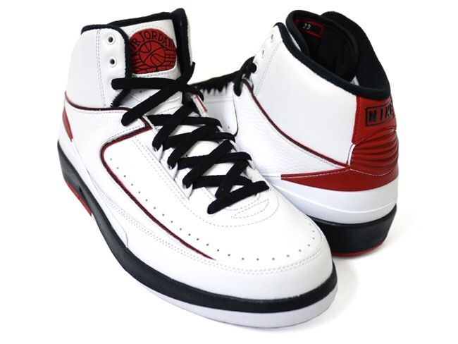 Air Jordan II --Colorway: White/Black --It was 1986, Michael Jordan's  second season, and Nike aimed to follow the Air Jordan 1's success with  something eye ...