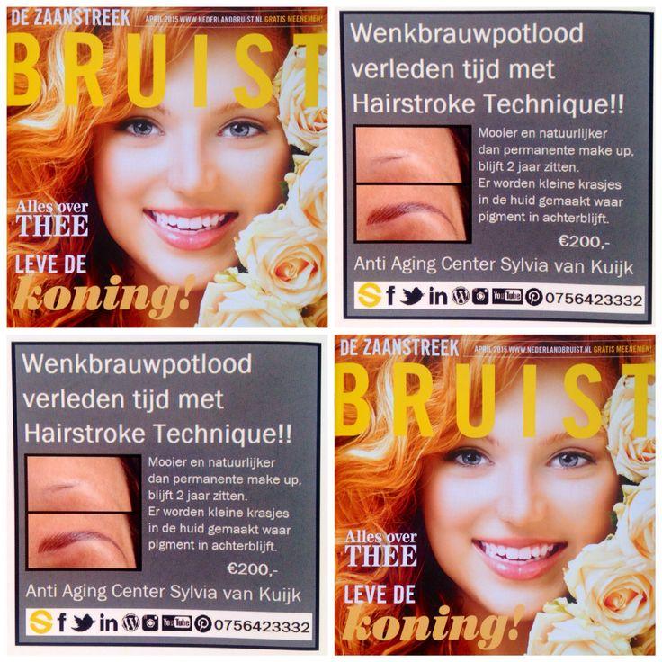 Hebben, Willen, Doen !!   Beauty 'FULL' eyebrows !! Teken je al jaren jouw niet zichtbare of dunne wenkbrauwen? Of heb je een dikke streep permanente make-up? Met de 'Stroke' techniek worden jouw wenkbrauwen weer vol en mooi. Door het aanbrengen van pigment in fijne streepjes worden haartjes getekend die +/- 2 jaar blijven zitten.   T. 075 642 3332 E. info@sylviavankuijk.nl W. www.sylviavankuijk.nl