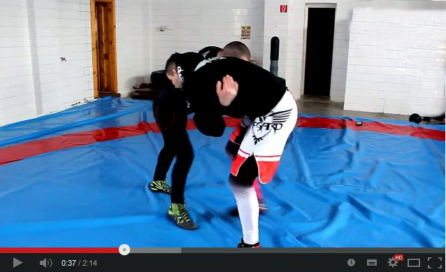 MMA training techniques led by Attila Végh - Part 6