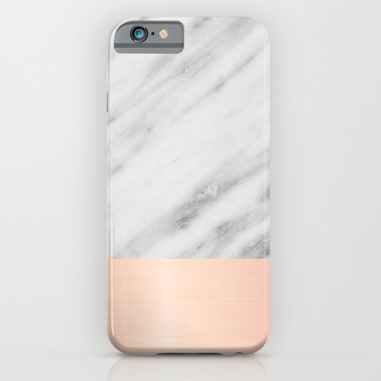 Real Italian Marble and Pink iPhone & iPod Case