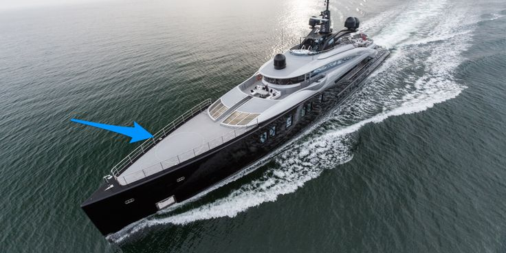 Photos of Okto yacht with a pool and helipad - Business Insider