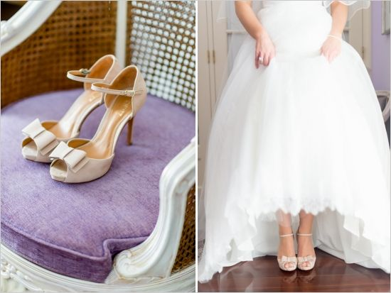 wedding shoes by Schutz - depends on bridesmaid dress color