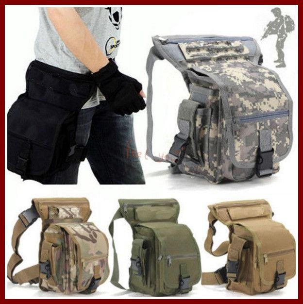 Multi-purpose Leg Drop Thigh Pack Utility Bag Waist Belt Travel Outdoor Tactics