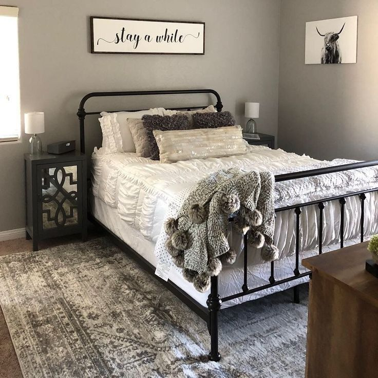 48 Awesome Farmhouse Decor Bedroom Design Ideas To You Inspiration   texasls.org…