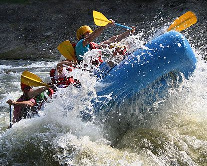 White water rafting on the Ocoee River. Class III and IV rapids will give you a wild ride you won't forget! The scenery is beautiful as the river winds through the Cherokee National Forest and a scenic gorge.