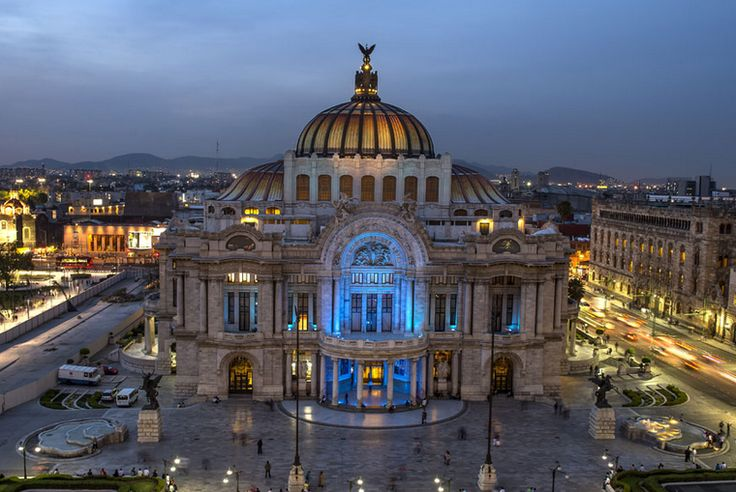 Mexico Tourist Attractions | Bellas Artes : This place with good architecture is well knows as ...