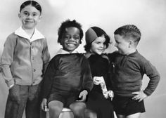 """"" It wasn't Sunday morning without them! Alfalfa, Buckwheat, Darla and Spanky..."""""