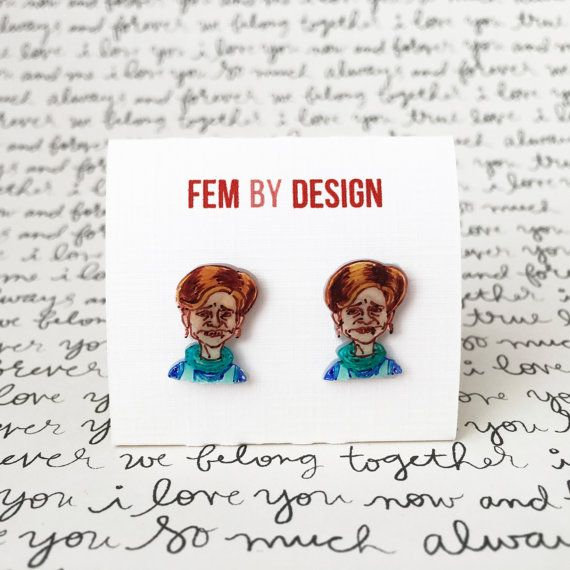 Jerri Blank Earrings Strangers With Candy Jewelry by FemByDesign