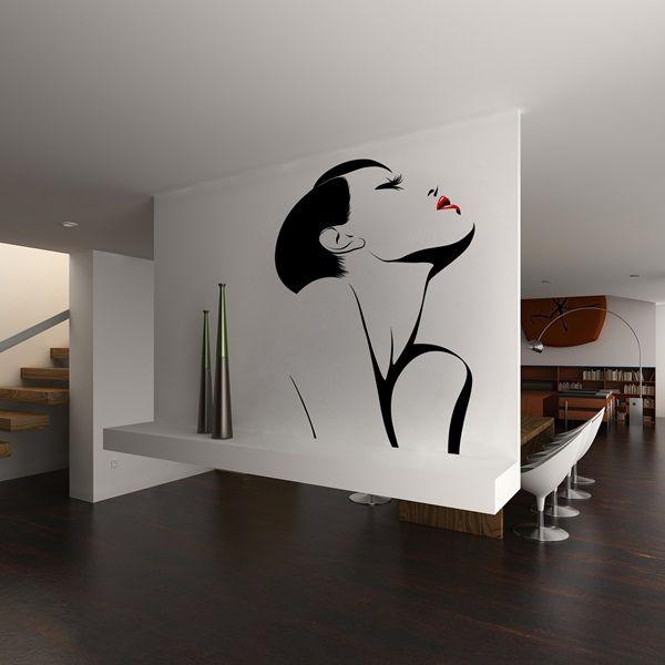 Mejores 16 im genes de vinilos decorativos modernos en for Vinilos pared barcelona