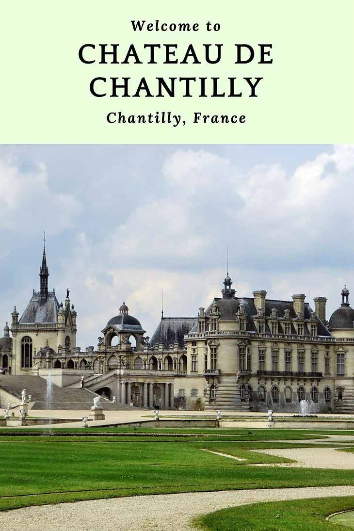 Les 25 meilleures id es de la cat gorie chateau de chantilly sur pinterest chateau chantilly - Chateau de chantilly adresse ...