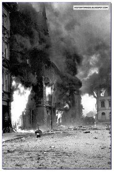 Polish Tragedy: Warsaw Uprising Of 1944. Warsaw burns during the Uprising