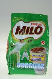 milo; chocolate drink