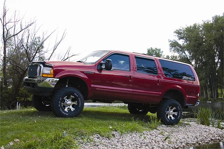 """ford excursion lifted 