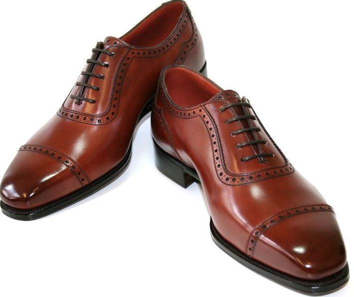 Alfred Sargent. Gorgeous leather details. Classic men's silhoutte that is always in style.