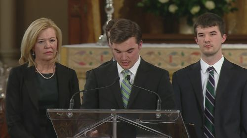 Jim Flaherty's family speaks at the former finance's minister's state funeral ||| Watch News Videos Online
