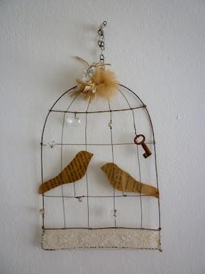 süßer Vogelkäfig , cute bird cage