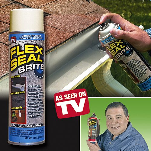 Perfect Simply Spray Flex Seal™ Liquid Rubber Sealant Onto Leaky Pipes, Gutters,  Roofs And Other Surfaces To Create An Instant Waterproof Coating That Seals  Quickly ...